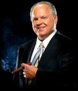 "Rush Limbaugh -- in all his ""perverted right-wing"" glory!"